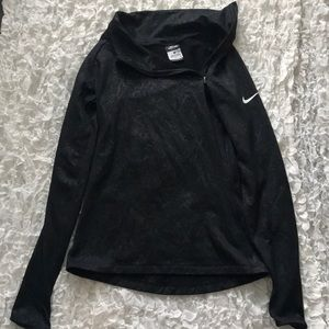 Nike tight fitted sweatshirt